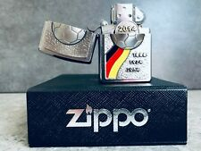 Zippo 3D Germany World Cup Commemoration Lighter - Only 500 Made w/ Display box