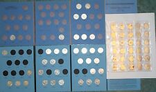 66 Canada 25 Cents Coin Collection Lot, in 2 Whitman Folders, 1911 to 2011