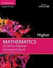 GCSE Mathematics Edexcel: GCSE Mathematics for Edexcel Higher Homework Book...