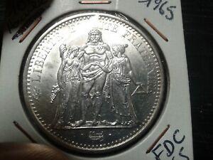 10 Francs Hercule  1965   Argent FDC/MS65