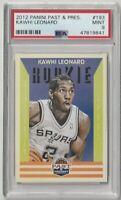 2012 Panini Past & Present #193 Kawhi Leonard Spurs RC Rookie PSA 9 Mint