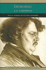 Barnes and Noble Library of Essential Reading: Orthodoxy by G. K. Chesterton...