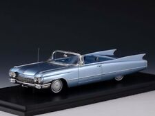 Stamp Models Cadillac Series 62 Convertible 1960 Blue (OPEN)1:43 STM60305