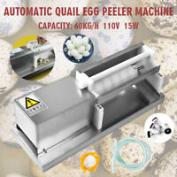 Automatic Electric Quail Egg Peeler Machine Huller Machine Sheller House 110V