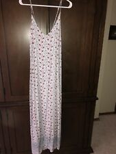 Old Navy ~ Beautiful Full Length Floral Rayon Dress ~ Worn Once