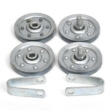 Garage Door 3 Inch Stud Pulley Hardware Set