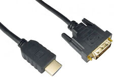 1m DVI to HDMI Cable Lead to Connect Computer PC Notebook Laptop to TV Monitor