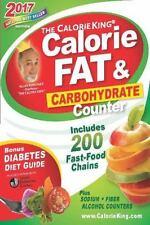 THE CALORIEKING CALORIE, FAT & CARBOHYDRATE COUNTER 2017 - BORUSHEK, ALLAN - NEW