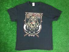 2014 Rockstar Energy Drink MAYHEM FESTIVAL T-Shirt AVENGED SEVENFOLD KORN  EUC