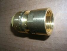 (1) 1/2 in. Brass Push-to-Connect x Female Pipe Thread Adapter