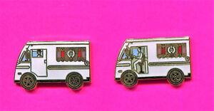 1984 LA OLYMPIC PINS MOTHERS COOKIES TRUCK PINS LOT OF 2 PINS RARE CLOSED DOOR