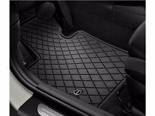 4 Pc OEM Mini Cooper F56 All Weather Rubber Floor Mat Set Mini Logo Front Rear