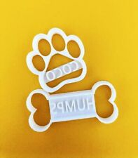 Personalised Dog Cookie Cutter with Your Dog Name - Bone/Paw/Kennel Shaped