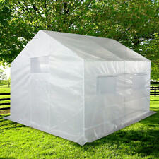 Quictent® 12 Stakes 10'X9'X 8'Portable Greenhouse Walk-in Green Garden Hot House