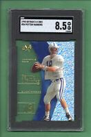 1998 Skybox E-X 2001 Peyton Manning ROOKIE 54 Colts HOF *comp PSA NM-MT+ SGC 8.5