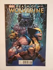 DEATH OF WOLVERINE #4 (NM-) 2014 GREG LAND VARIANT COVER