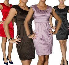 Markenlose Mini-Damenkleider im Tuniken-Stil mit Rundhals-Ausschnitt