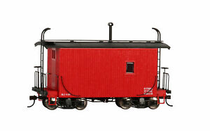 Bachmann 26562 On30 Red Data Only 18 ft. Logging Caboose