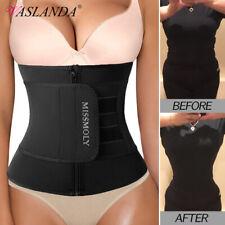 Neoprene Waist Trainer Sauna Sweat Belt Slimming Body Shaper Abdominal Trimmer