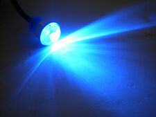 """2-11/16"""" Blue Jammy Motorcycle, Atv, Rv Light Led Waterproof Marker Accent Aux"""
