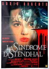 manifesto 2F film LA SINDROME DI STENDHAL Dario Argento Asia Argento 1996