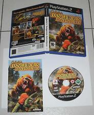 PS2 Playstation 2 - CABELA'S DANGEROUS ADVENTURES - PAL ITALIANO PERFETTO