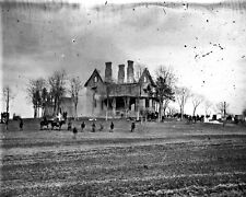 New 8x10 Civil War Photo: Ruins of the Phillips House at Falmouth, Virginia