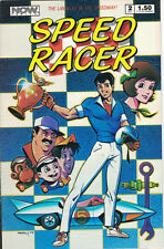Speed Racer Comic Book  #2, NOW 1987, VERY FINE +