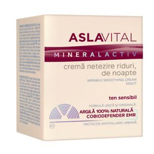 Aslavital night wrinkle smoothing cream 50ml,free shipping world wide