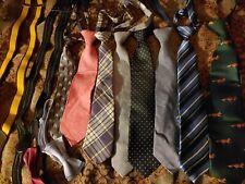 Lot of 12 Boys Necktie Bow Zipper Clip Suspenders Dogs More Different Sz 2T - 12