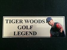 Tiger Woods Sublimation Plaque