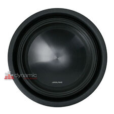 """ALPINE SWT-10S4 Car 10"""" SWT Series Single 4-ohm Shallow Mount Truck Subwoofer"""
