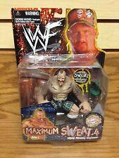 "1999 WWF/WWE ""DARREN DROZDOV"" JAKKS MAXIMUM SWEAT Wrestling Figure [MOC]"