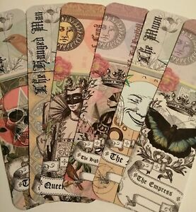 Tarot Card Bookmarks - Cards For Your Journal And More
