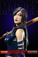 SIDESHOW EXCL. PSYLOCKE COMIQUETTE STATUE MARVEL SOLD OUT MARK BROOKS #018/450