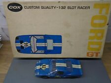 1960's 1/32 Cox Ford GT40 - Excellent - very clean build.