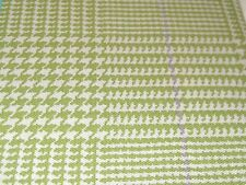 "Waverly Grantham Plaid Straight Valance  52 x 18""L Celery Green  NIP"