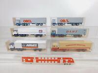 CA242-1# 6x Wiking 1:87/H0 LKW Scania: 24 520 + 25 520 + 520 + 512, s.g.+OVP