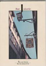 Rue Juiverie: rue aux Blasons, rue des artisans d'art  à Lyon 1995