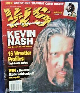 Wrestling Superstars Magazine ISSUE 3 KEVIN NASH, SABLE, STING, DEBRA, HOGAN,ALI