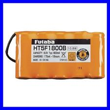 BRAND NEW FUTABA 1800MAH 6V NIMH HT5F1800B TRANSMITTER BATTERY 10J 4PX FUTM1482