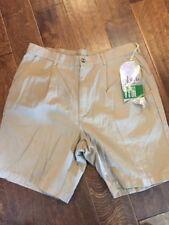 Men's REMINGTON TRAIL SHORTS Size 36 Khaki 7 Pocket Shorts Canvas PC14