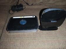 Two Netgear WNDR3400 N600 Dual Band Belkin F9K1102v2 N600 Wireless N Routers