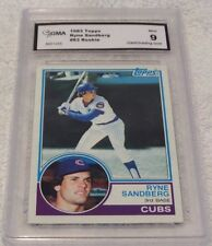 1983 TOPPS RYNE SANDBERG CHICAGO CUBS ROOKIE CARD #83