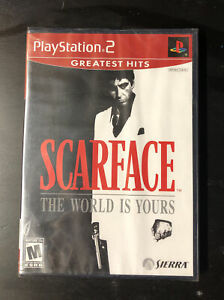 Scarface: The World is Yours (Sony PlayStation 2, 2006) SEALED GREATEST HITS PS2
