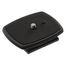 Quick Release Plate Tripod Head for QB-4W Sony CX-888 CX-444 460 D680RM Velbon