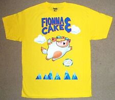Adventure Time Fionna Cake Mario 3 Parody Shirt Large Official Licensed