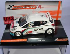 SCALEAUTO SC-6181R PEUGEOT 208 T16 RALLY YPRES 2013 K.MEEKE-CH.PATTERSON  MB