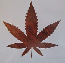 Marijuana Leaf Stencil 10 Mil Reusable Mylar for Airbrush, Cake Decorating, etc.