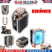 LED CPU Cooler Cooling 4-Heatpipe Heatsink for LGA 775/1155/1156/1150/1366 AMD
